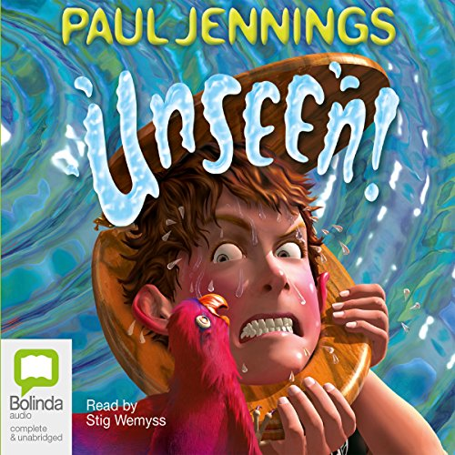 Unseen!  audiobook cover art