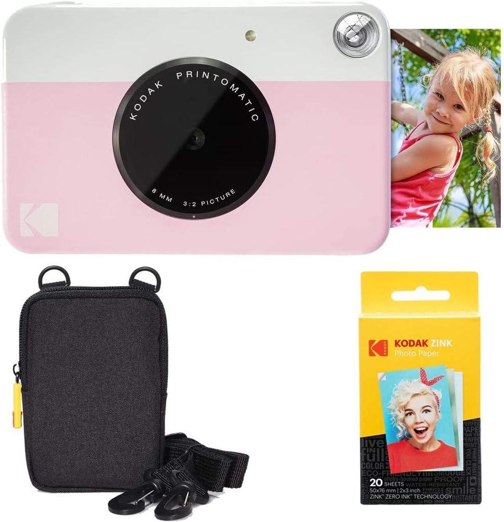 Kodak Printomatic Sofortbildkamera Basis Paket Elektronik