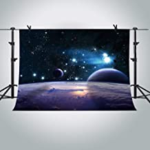 MME 7x5Ft Cosmic Sky Photography Background Shining Stars Backdrop Star Wars Photo Video Studio Props LXME406