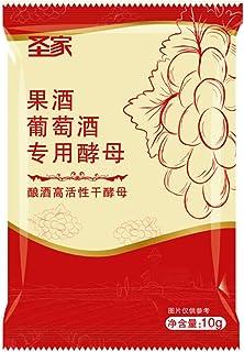 CHENSTAR Levure De Vin Universal 10g / Pack - Complexe Vinicole Aromatique - Levure + Nutriment + Enzymes - Levures De Biè...