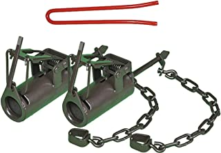 Fleming Dog Proof Raccoon Trap - 2 Pack with Set Tool - Brown