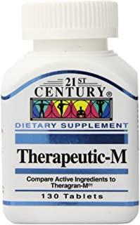 Sponsored Ad - 21st Century Therapeutic M Tablets, 130 tablets (3 pack)