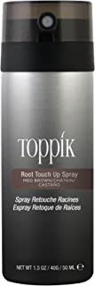 Toppik Root Touch Up Spray Medium Brown, 50 ml