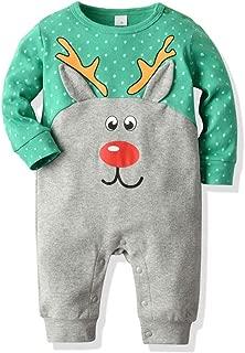 Fartido Mameluco para niños Chicos Niñas Navidad Dibujos animados Animal Pijamas Trajes de mono