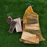 Stones Garden Buche Brennholz für Kamine 10kg Hochwertige Holz Feuerholz Kaminholz Trocken