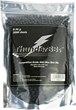 TBB0.36 ThunderBBs Airsoft BBS 0.36G, Competition Grade, Dark Grey or Brown, 3000 Rounds/Bag