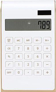 Calculator, Desk Calculators Color Optional Plastic for Office for Home(white)