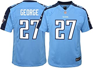 Nike Eddie George Tennessee Titans NFL Youth Light Blue Alt Game Jersey