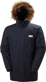 Helly Hansen Men's Dubliner Parka 100 Gram Primaloft Insulated Waterproof Windproof Breathable Rain Coat with Hood, 597 Navy, 5X-Large