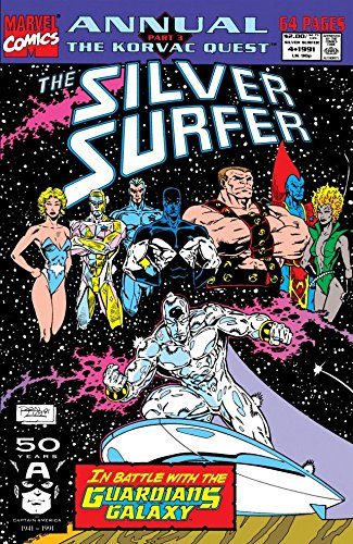 Silver Surfer (1987-1998) Annual #4 (English Edition)