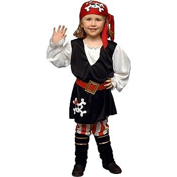 Boys Toys Disfraz de Pirata Niña 1-2 años: Amazon.es: Juguetes y ...