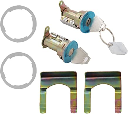 F250 Pick Up Ignition and 2 Door Locks with 2 Keys Black Ford 1992-95 F150