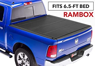 BAKFlip MX4 Hard Folding Truck Bed Tonneau Cover | 448203RB | fits 2012-19 Dodge Ram With Ram Box 6' 4