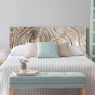 setecientosgramos Cabecero Cama PVC | WoodTree | Varias Medidas | Fácil colocación | Decoración Dormitorio (115x60cm)