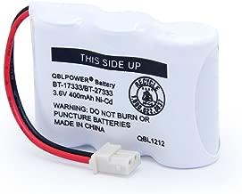 QBLPOWER BT-17333 BT-27333 Handset Telephone Rechargeable Battery 2/3AA 3.6V NI-CD Cordless Phone Battery Compatible with Vtech BT17333 BT27333 BT-17233 BT17233 BT-163345 CS5121 Single