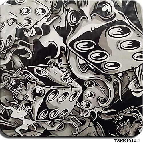 Wassertransferdruck Folie, Hydrographischer Film, Hydro-Dip-Film-Wunderschönes Muster-Wassertransferdruck FilmHydro Dipping - 1,0 Meter Multi-Color Optional water transfer printing folie