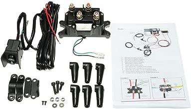 12V Solenoid Relay Contactor & Winch Rocker Thumb Switch Combo for ATV UTV Polaris 800 1000