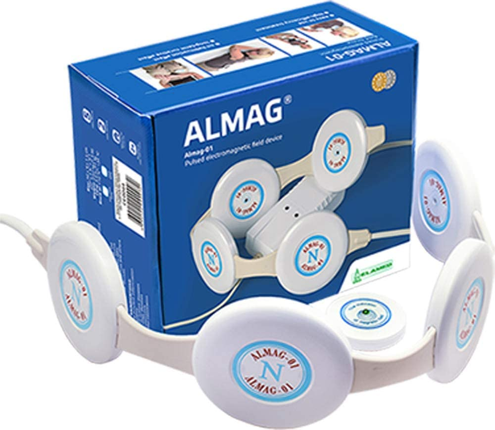 ALMAG Magnetic Ranking TOP16 Pulser Electromagnetic Field Device M Baltimore Mall Pain Relief
