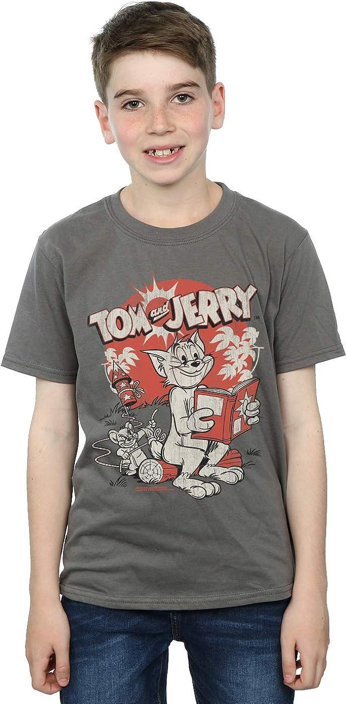 Tom and Jerry Boys Rocket Prank T-Shirt