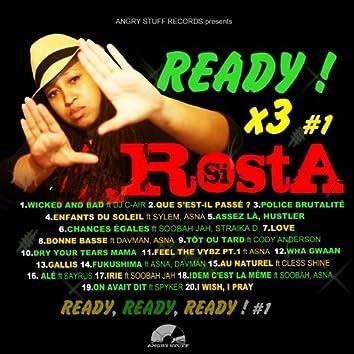 Ready x3, Vol.1