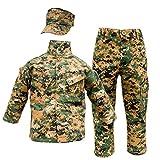 Trooper Clothing Woodland Marine Youth Uniform 3 PC (Woodland MARPAT) (M (10-12))