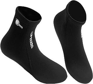 Lixada 2MM نيوبرين جوارب الغوص أحذية المياه أحذية الشاطئ الجوارب الغوص الغوص الغوص ركوب الأمواج أحذية للرجال النساء