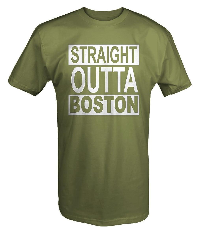Straight Outta BOSTON NWA Rap Movie My City Edition T shirt - 6XL