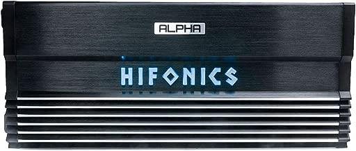 Hifonics Alpha A1000.1D Amplifier – 1000 Watt, Super Class D, Mono, Auto On, Nickel Plated, Remote Control, Aluminum Heat Sink