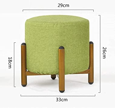 Large Capacity Footstool Footrest Dressing Table Sofa Stool, Home Wrought Ir on Living Room Shoe Bench Coffee Table Stool Fas