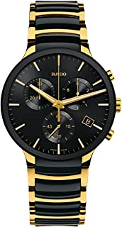 Rado Centrix Black Chrono Ceramic Analog Watch