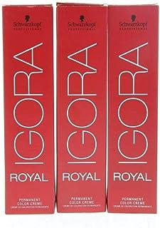 Schwarzkopf Igora Royal Tinte Permanente, Tono 8-1 - 60 ml