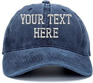 Custom Ponytail Baseball Cap Personalized Messy Bun Hat Mesh Visor Trucker Hat