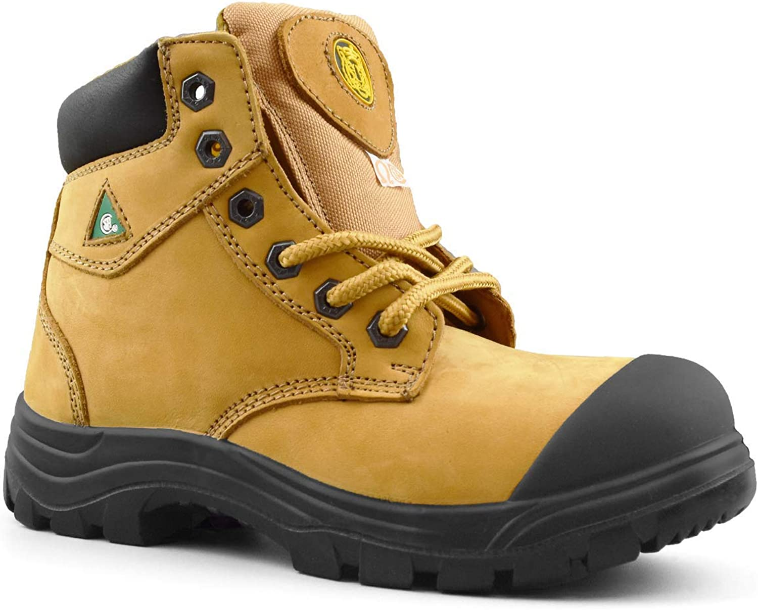 Tiger Safety Women's Steel Work Mesa Mall Portland Mall Toe Boots