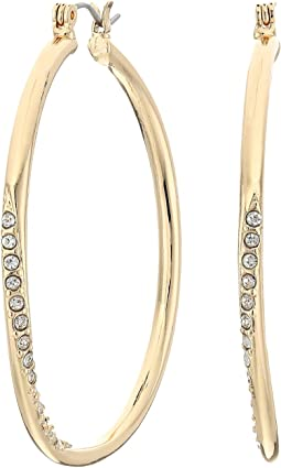 GUESS - Hoop With Stones Earring