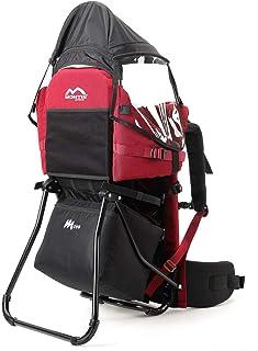 MONTIS MOVE, rygghållare, barnbärare upp till 25 kilogram, Röd
