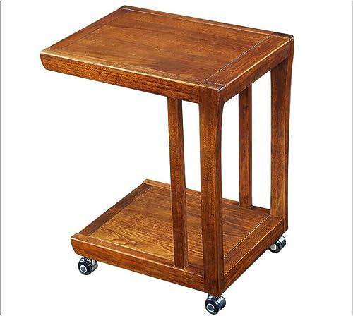 AJZXHESimple et créatif Table de Loisirs Table de canapé, Table de Rangement multifonctionnelle en Bois