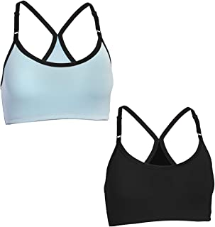 Fruit of the Loom (2 Pack) Sports Bras For Women, Racerback Bra, Strap Sports Bra, Wirefree Bra, Workout Clothes For Women...