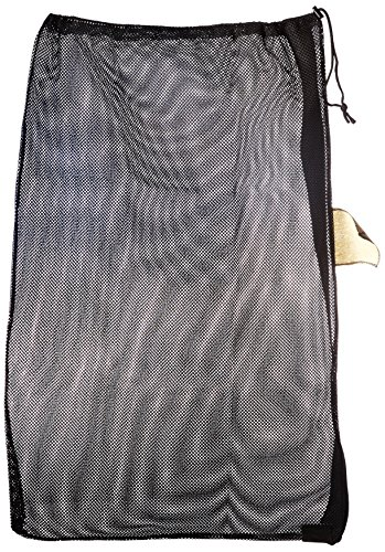 Martin Sports Tous usages en Maille Filet Sac avec Sangle de Transport, MBC36-BLACK, MARTIN SPORTS All Purpose Mesh Bag with Carry Strap, Black, Noir