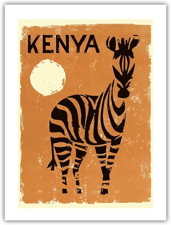 Pacifica Super beauty product restock quality top Island Art Kenya Africa Travel - Vintage Zebra Baltimore Mall Poste