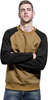 Mens Sweatshirts Long Sleeves T-Shirts Set-in Classic Sweater Fleece Pullover Fashion Tops