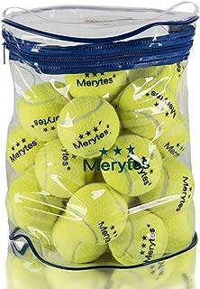 Merytes 30個硬式 テニスボール ノンプレッシャーテニスボール マッスルパワーボール
