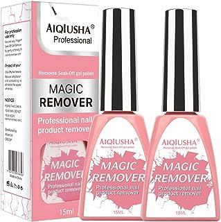 Nail Polish Remover, Quickly Bursting Removes Soak-Off Gel Nail Polish, Pack of 2 Units