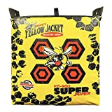 Morrell Yellow Jacket YJ-400 36 Pound Super Duper Weatherproof Adult Field Point Archery Bag Target w/Deer Vitals, Bullseyes and Carry Handle, Yellow