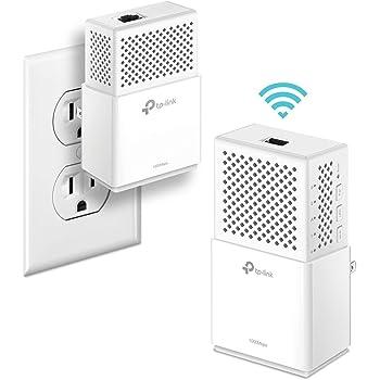 TP-Link AV1000Mbps Powerline WiFi Extender – Gigabit Port, Noise Suppression Design, Plug&Play, Power Saving(TL-WPA7510 KIT) (Renewed)