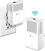 TP-Link AV1000Mbps Powerline WiFi Extender – Gigabit Port, Noise Suppression Design, Plug&Play, Power Saving(TL-WPA7510 KIT) (Renewed)