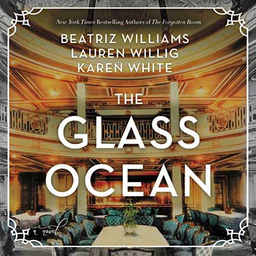 The Glass Ocean audiobook cover art