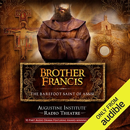『Brother Francis: The Barefoot Saint of Assisi』のカバーアート