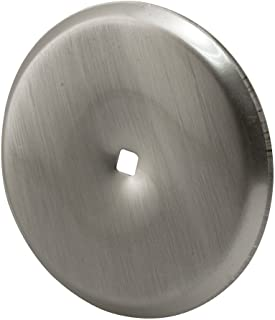 Prime-Line Products U 10420 Cabinet Knob Back Plate, Satin Nickel,(Pack of 2)