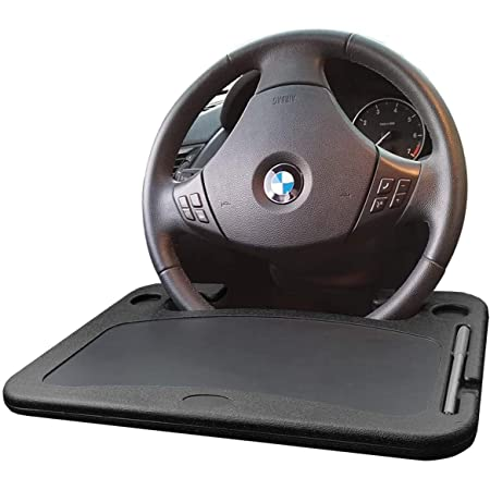 Steering Wheel Table Tray for Vehicle Drivers Food,Snack,Dining,Drinking XBY-US Car Tray for Eating,Car Steering Wheel Tray,Auto Steering Wheel Desk/for Laptop