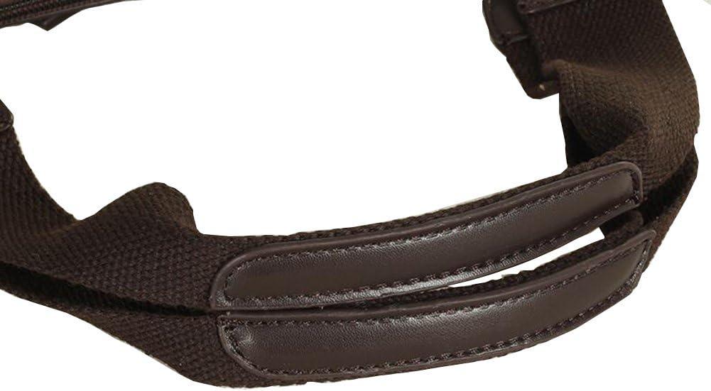 Hflove Men's Leisure Shoulder Bag Canvas Shoulder Bag Canvas Handbag Shoulder Briefcase Bag